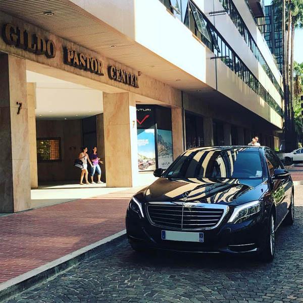 Azur Car Service Monaco S Class